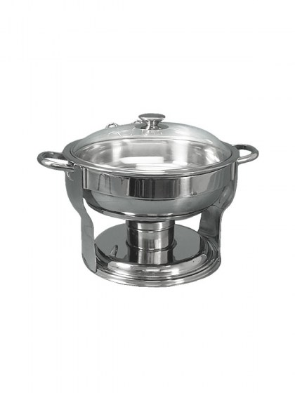 4_quart_stainless_steel_round_server_with_glass_lid