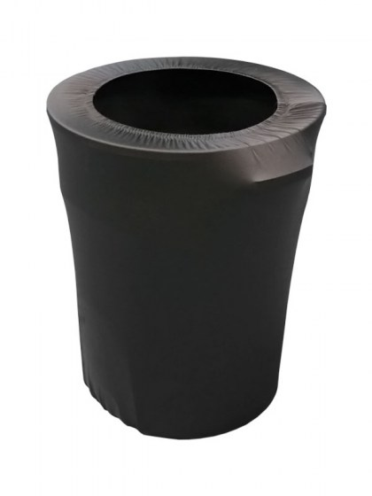 black_spandex_trash_can_cover