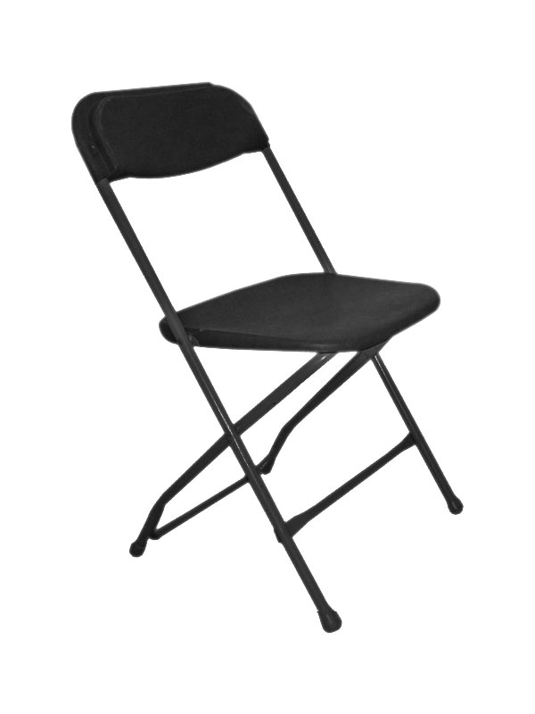 Samsonite Black Folding Chair